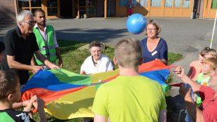 Jung und alt – spielerisch verbunden bei den Bundesgenerationsspiele n